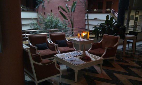 Ribera de Triana Hotel : area recepcion