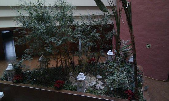 Ribera de Triana Hotel : jardin interior