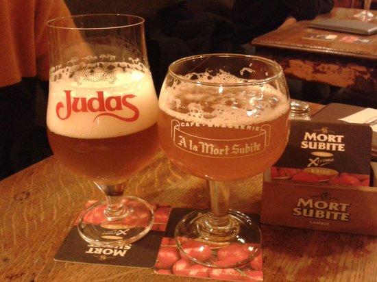 La Mort Subite: Le birre