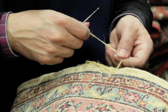 Motif Collection: 丈夫な絨毯に針が曲がってしまうときもあるのだとか