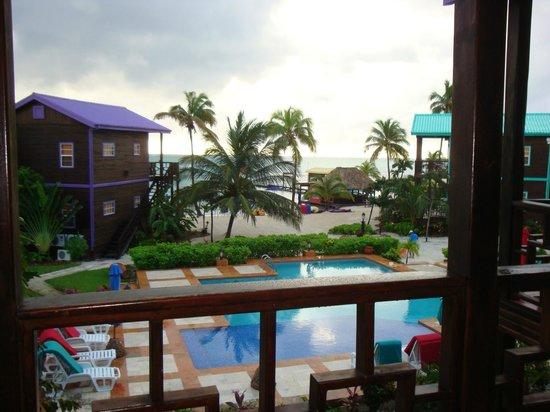 X'tan Ha Resort: Morning view!