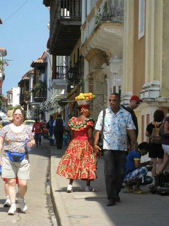 Cartagena Divers: vielle ville Cartagena