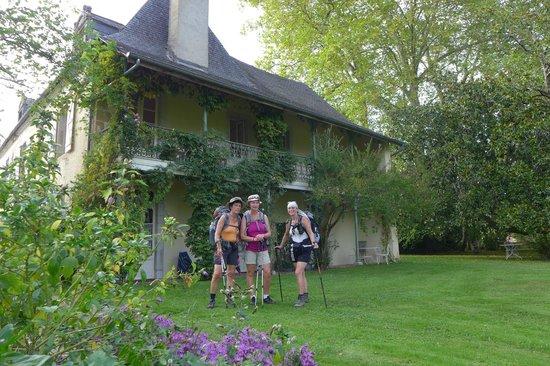 Maison Lespoune : Dans le jardin