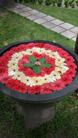 Sun Island Resort: Décoration de fleur