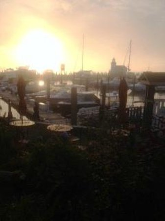 Saybrook Point Inn & Spa: Marina from the Inn
