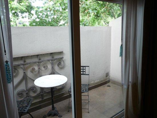 Nuss Buenos Aires: Varanda apartamento Deluxe