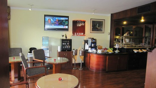 Barcelo San Jose: Club Premium Business Lounge