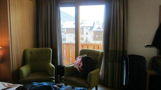 Hotel Larice: The room