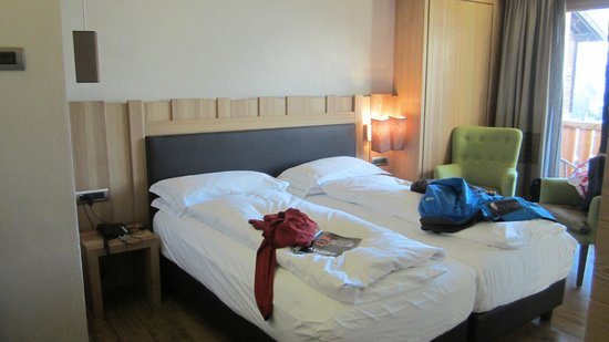 Hotel Larice: The beds