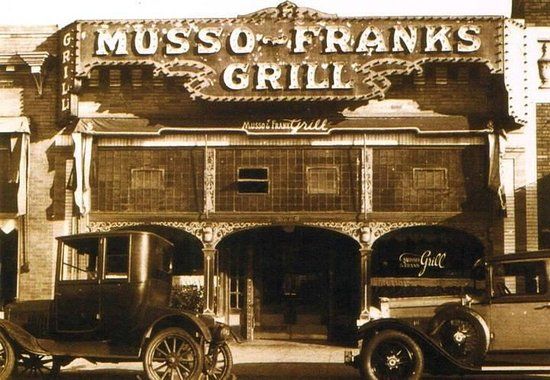 Musso & Frank Grill: Back in the day