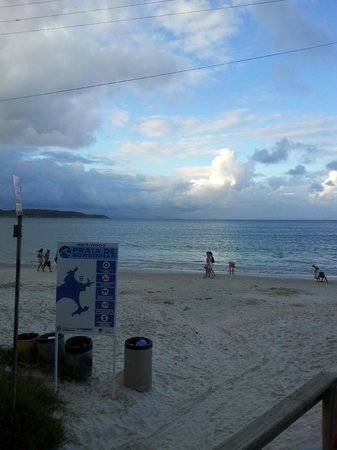 Bombinhas Beach: o pôr do sol