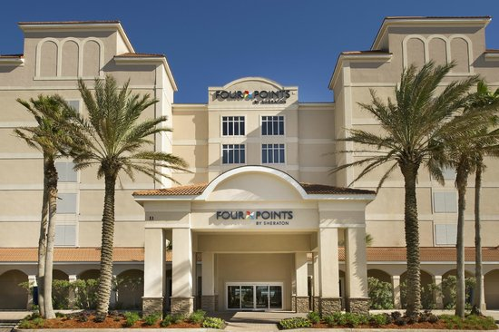 Four Points by Sheraton Jacksonville Beachfront: Hotel Front