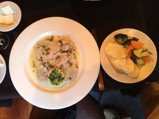 La Terrazza Restaurant: Scaloppini Picata