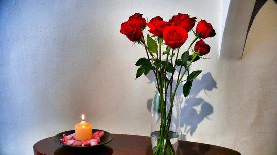 Casa de las Rosas: Recepcion