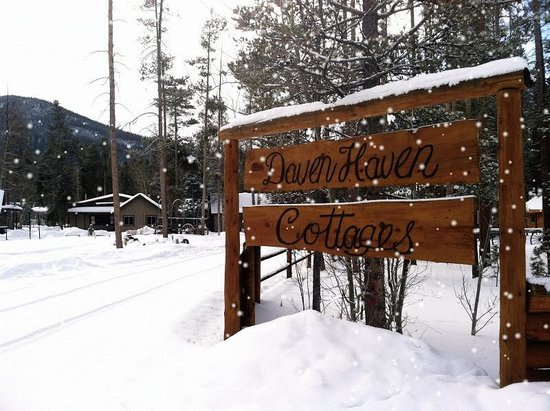 Daven Haven Lodge & Cabins: Winter Magic