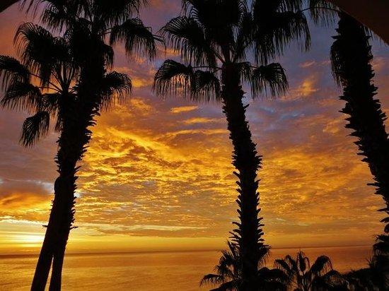Hilton Los Cabos Beach & Golf Resort : Sunrise on the Sea of Cortez