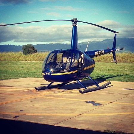 Mauna Loa Helicopters Tours: The Helicopter