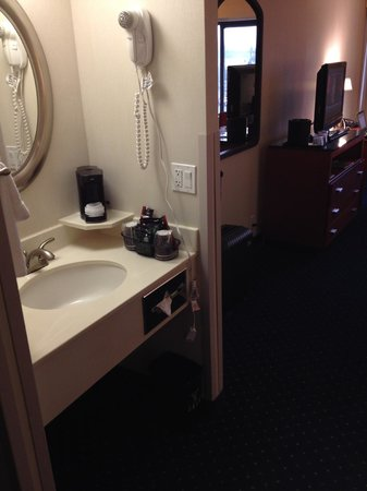 Courtyard Portland Airport: Sink in Living Quarters