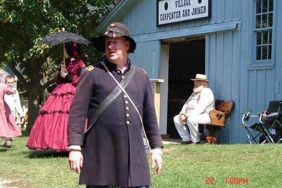 Pinecrest Historical Village: Union doctor