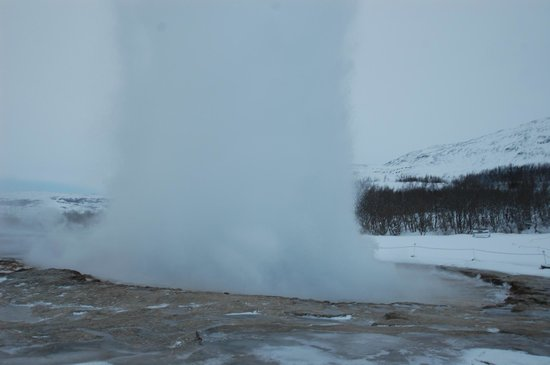 Gullfoss Geysir Direct Day Tour: Geyser