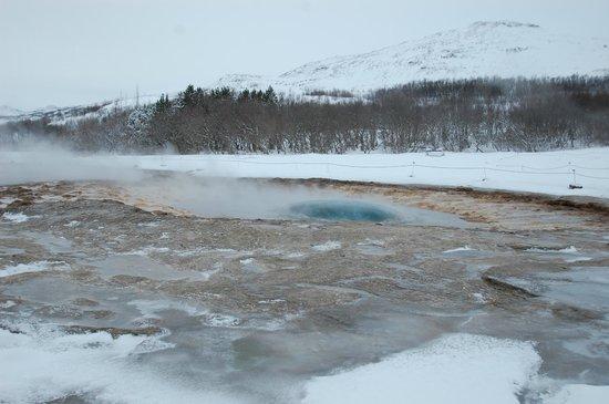 Gullfoss Geysir Direct Day Tour: Geyser hole before eruption