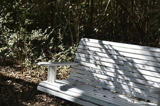 Woodridge Bed and Breakfast of Louisiana: swing