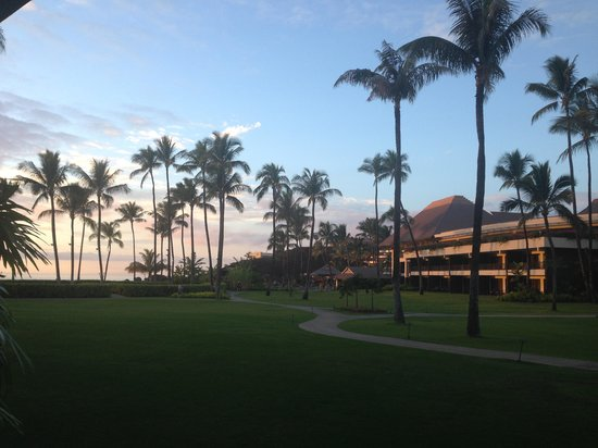 Sheraton Maui Resort & Spa: View from our room just on dusk
