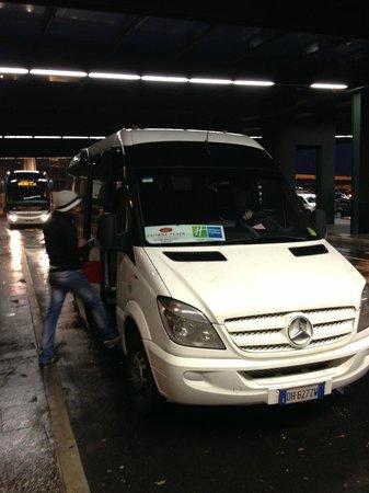 Crowne Plaza Milan - Malpensa Airport: shuttle bus