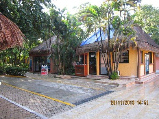 Hotel Riu Lupita: Hotelanlage