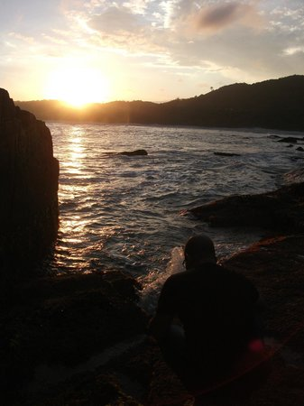 Pousada Capitao Cook : pôr do sol lado norte