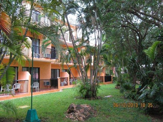 Hotel Riu Lupita: Hotelgebäude