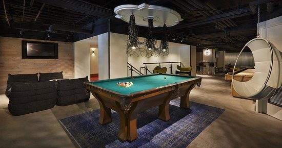 Hotel Zetta San Francisco: Game Room