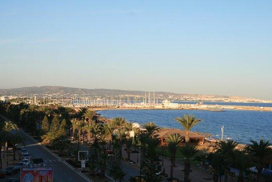 Saphir Palace & Spa: widok z hotelu na marinę