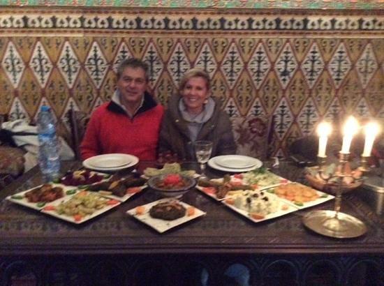 Riad Maryam Restaurant: buonissimo!!!