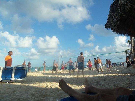 Luxury Bahia Principe Ambar Blue Don Pablo Collection: Beach Volleyball