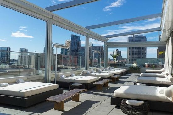 Andaz San Diego: Morning on the roof