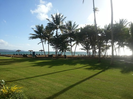 Magdalena Grand Beach & Golf Resort: View from our patio