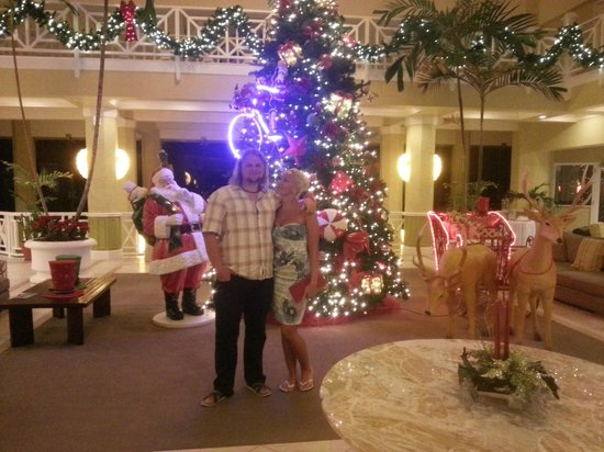 Magdalena Grand Beach & Golf Resort: Christmas is here!