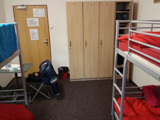 Hostel Centre Prague: Dormitorio per 4 persone