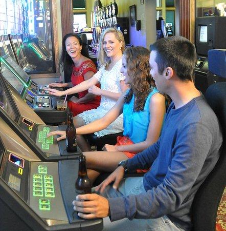 First Gold Hotel: Having fun in the casino