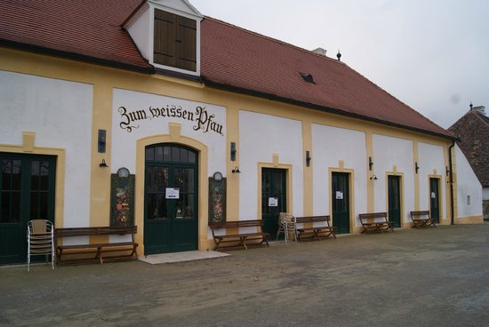 "Schloss Hof: ""White Peacock"" Bar"