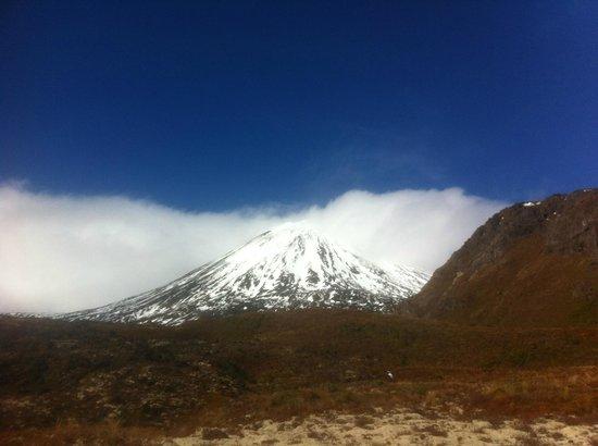 Mt Ruapehu: Non sembra molto lontano...
