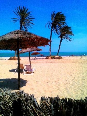 Hotel Djerba Castille: plaża hotelowa