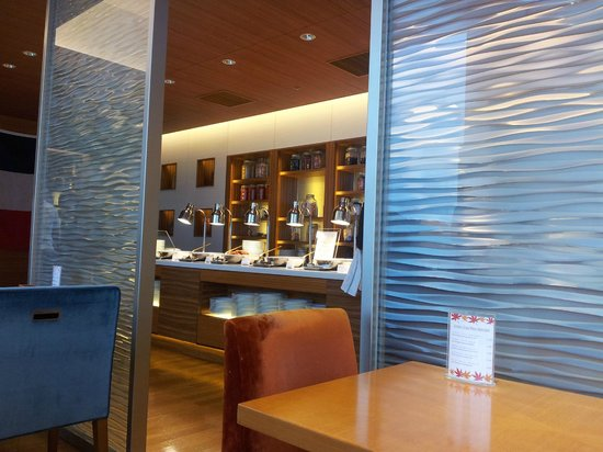 Sheraton Grand Hotel Hiroshima: the breakfast buffet - very good !