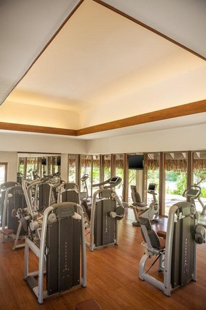 The St. Regis Bora Bora Resort : Fitness Center