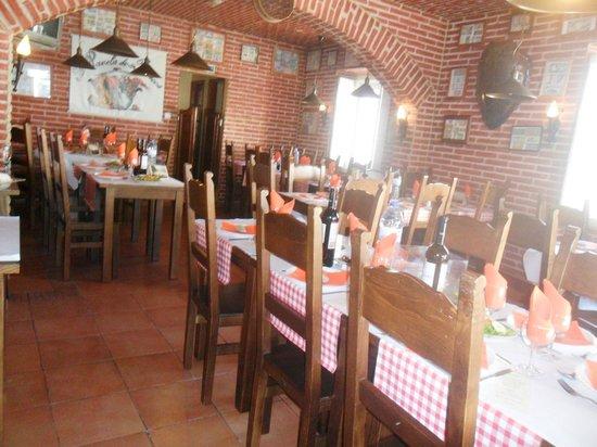 Restaurante A Panela: a sala