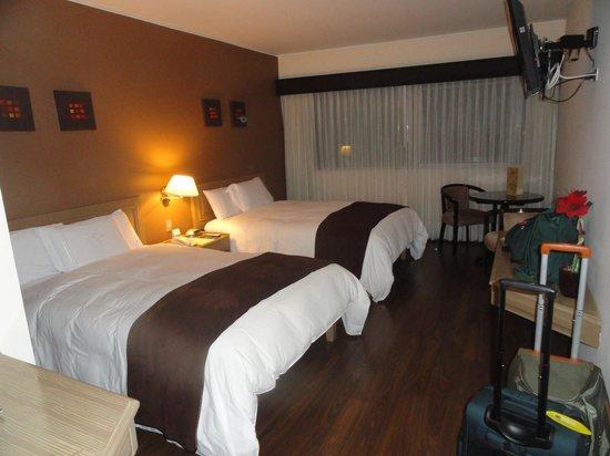Hotel Jose Antonio Lima: The double room.