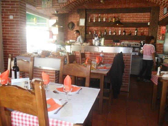Restaurante A Panela: o bar