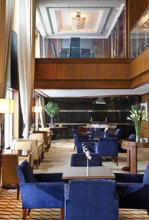 The Hongta Hotel, A Luxury Collection Hotel, Shanghai : Executive Lounge With Meeting Room