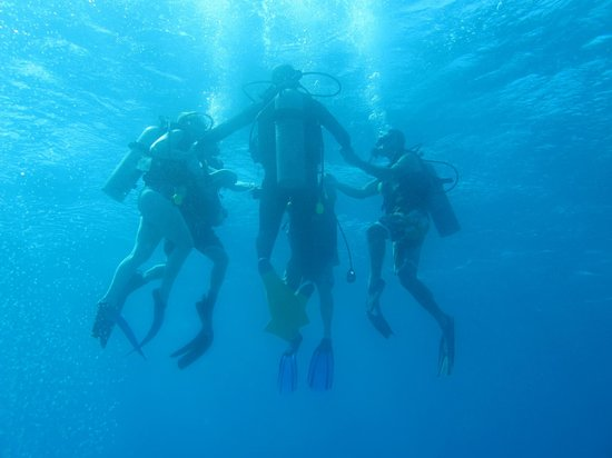 Couples Negril : First scuba lesson - Perfect